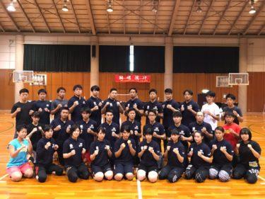 白蓮会館ALL JAPAN 2019 強化選手合宿